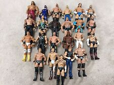 WWE Mattel Lot 8 Of 23 Wrestling Figures, Elite, Flashback, Basic, WCW, ECW