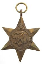 1939-1945 Star British Commonwealth Service Bronze Medal WWII World War 2 N706