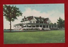 USA Golf and Country Club Des Monies, Iowa heritage postcard