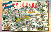 Postcard Greetings From Colorado