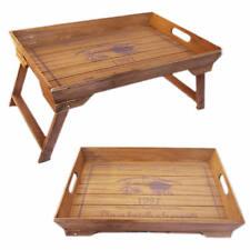 Betttablett Frühstück Tisch Knie Tablett Serviertablett Vintage Shabby Landhaus