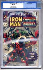 Tales of Suspense #85 CGC NM 9.4 Iron Man Cap America