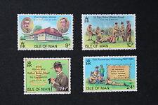 Timbre ILE DE MAN Yvert et Tellier n°198 à 202 n**- stamp isle of man (cyn1 )
