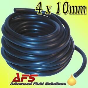4mm x 10mm 5/32 RETARD VACUUM RUBBER HOSE TUBING 1 MTR