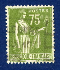 STAMP / TIMBRE FRANCE OBLITERE N° 284A TYPE PAIX / photo non contractuelle