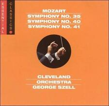 Mozart: Symphonies Nos. 35, 40, 41 (CD 2002, Sony Classical) Sealed - Brand NEW!