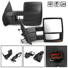 Extendable LED Turn Signal Power Towing Mirror Fit 2004-2006 Ford F150 Pickup US