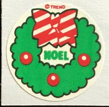 Vintage 80s Matte Trend Scratch & Sniff Sticker - Evergreen - Mint!!