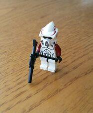 New Star Wars lego 9488 ARF CLONE TROOPER red highlights mini figure brand new