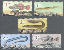 New Zealand-Freshwater Fish 2017 set mnh