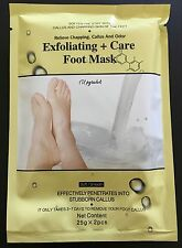 6 Pairs MAN SIZE Baby &Care 4 Your Foot Peeling Feet Mask Remove Callus EXP 2020