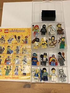 LEGO SERIES 1 MINIFIGURES 8683 FULL COMPLETE SET -ALL 16 FIGURES! NURSE ZOMBIE