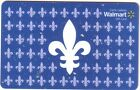WALMART QUEBEC 2015 MINT GIFT CARD FROM CANADA BILINGUAL NO VALUE
