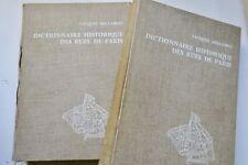 HILLAIRET DICTIONNAIRE HISTORIQUE DES RUES DE PARIS