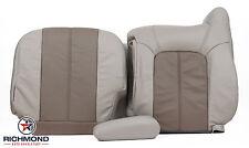 2001 GMC Yukon XL 1500 Denali-Driver Side Complete Leather Seat Covers 2Tone Tan