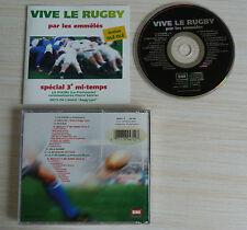 RARE CD ALBUM VIVE LE RUGBY PAR LES EMMELES 16 TITRES 1993 REGG'LYSS PITCHOURIE
