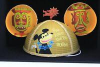 Disney D23 Expo 2019 Designer Mouse Ears Hat Enchanted Tiki Room SHAG