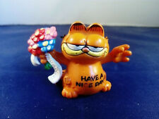 """2.5"""" PVC FIGURE - 'HAVE A NICE DAY' GARFIELD - UFS - BULLY"""