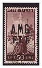 TRIESTE A - 1947 DEMOCRATICA Lire 50 USATO