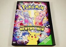 Pokemon the First Movie: Mewtwo Strikes Back DVD RARE OUT OF PRINT VERSION