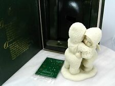 I NEED A HUG - RETIRED Department 56 Winter Tales Of The SNOWBABIES 6813-6