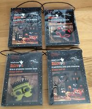 Waitrose Halloween Craft Kit Bundle- Party Activity Gifts: Masks Pom Pom Animals