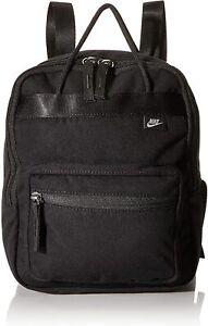 Nike Tanjun Mini Small Backpack Triple Black Travel Theme Park Bag BA6098-010