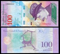 Venezuela 100 Bolivares Soberano 2018 Note Series C8 P-New @ UNC