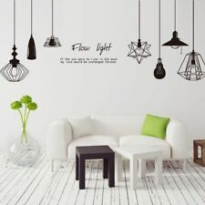 2340ig Vinyl Wall Decal Chandelier Room Decoration Lighting House Stickers