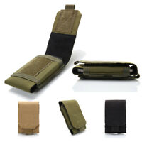 "5"" Universal Belt Pouch Holster Molle Bag Mobile Phone Case Cover Military Bags"