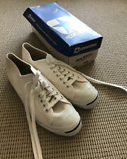 Vintage 1980's Converse Jack Purcell White Size 11 Athletic Shoe