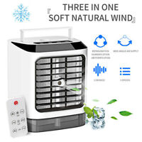 Portable Evaporative Air Cooler Fan Indoor Cooling Humidifier + Remote Control W