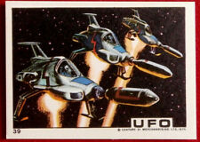 UFO - INTERCEPTORS LAUNCHED AND READY FOR ACTION - Monty Gum (1970) - Card #39