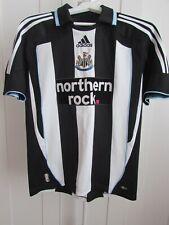 Vintage Adidas Newcastle United Northern Rock Football Shirt Size S
