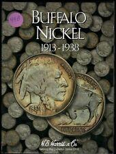 1913-1938 Buffalo Nickels In Harris Folder - 58 Coins