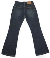 Levis 525 Bootcut Zip Fly Blue Denim Jeans W30 L32