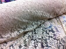 beige colour nylon spandex fashion stretch lace new floral design fabric