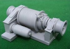 Small Electric Cargo Winch. Model Boat Fittings.