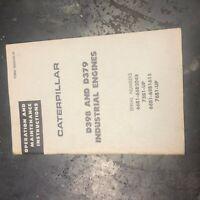 CATERPILLAR CAT ENGINE G342 342 OPERATION MAINTENANCE 31B1-UP 71B1-UP