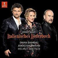 Diana Damrau Jonas Kaufmann Helmut Deutsch - Wolf: Italienisches Lieder (NEW CD)