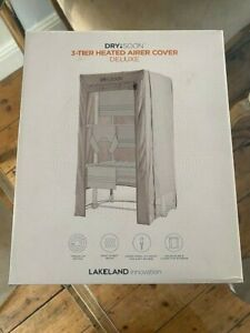 BRAND NEW IN BOX DRY SOON 3 TIER HEATED AIRCOVER DELUXE RRP £50