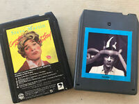 Lot (2) 8 Track Tapes by Steve Martin - Comedy Is Not Pretty & Let's Get Small