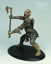 Moria Orc Warrior Goblin Sideshow Weta Lord Of The Rings Statue Figure Hobbit