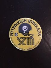Vintage Pittsburgh Steelers Super Bowl XIII Orange Bowl 1979