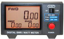 KPO DG-503 SWR-Watt-Messgerät mit Digitalanzeige 1.6 - 525 MHz