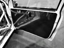 2x HONDA CIVIC TYPE R EP3 Door Card Panels Lightweight Gloss Black ABS *Race Car