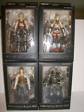 Final Fantasy Xll Play Arts Action Figures Vaan Ashe Balthier Gabranth (MIB)