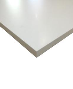 pannello laminato bianco 25 mm rifinito con bordo anche su misura TapTapShop