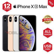 Apple iPhone XS Max - 64GB/256GB - Grey/Silver/Gold - UNLOCKED - Various Grades