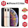 Apple iPhone XS Max - 64GB/256GB - Grey/Silver/Gold - UNLOCKED - Various Grades